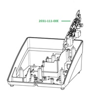 Matherboard - основная плата для аппарата Vector Paro Pro 2031-111-00E