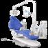 A-DEC 500, стоматологическая установка с верхней подачей инструментов фото